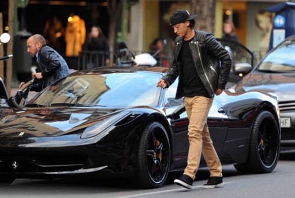 Mesut Özil's collection of luxurious and high-performance vehicles