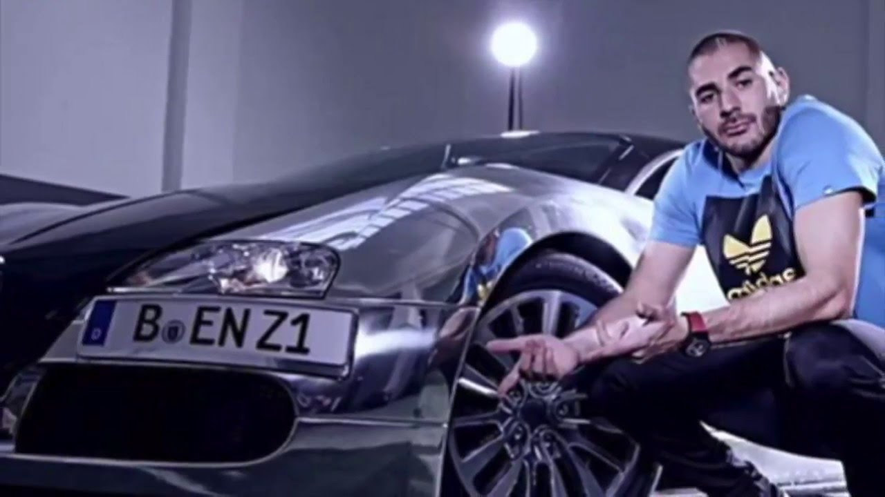 Karim Benzema's luxurious collection of superfast cars